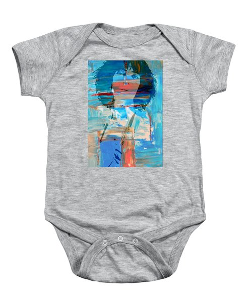 Patti Smith Baby Onesie