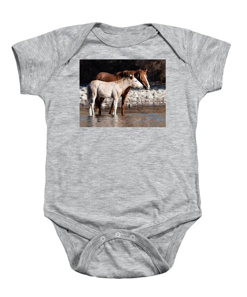 Baby Onesie featuring the photograph Peace by Mary Hone