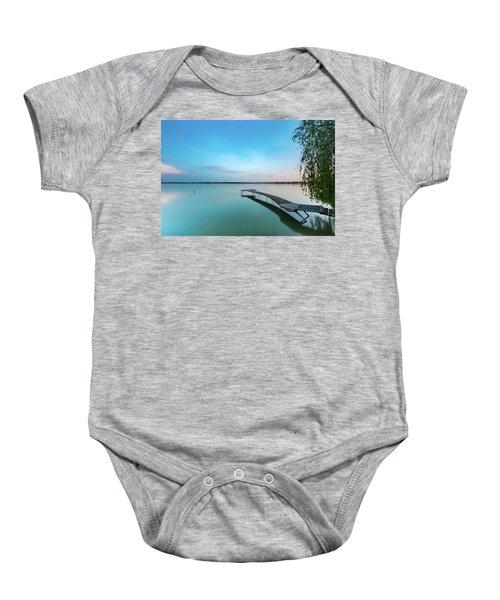 Peacefull Waters Baby Onesie