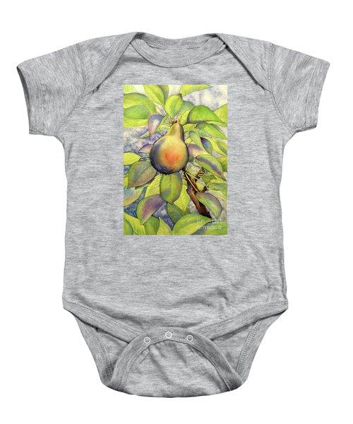 Pear Of Paradise Baby Onesie