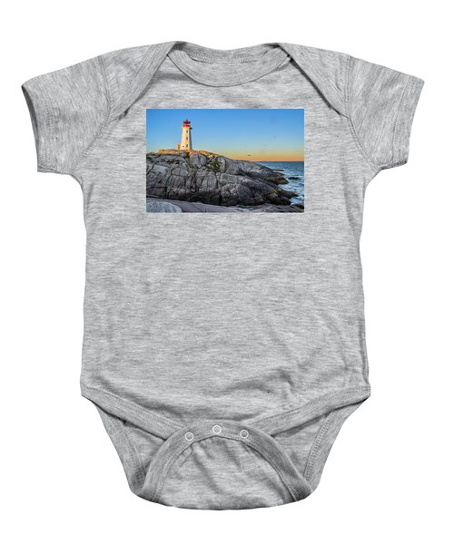 Peggys Cove Lighthouse Baby Onesie