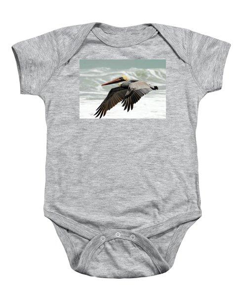 Pelican Glide Baby Onesie