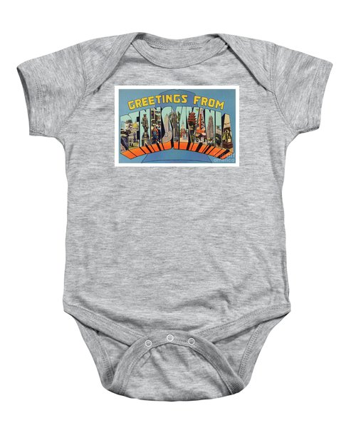 Pennsylvania Greetings Baby Onesie