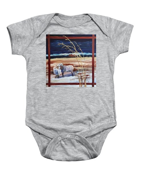 Phil And Alice Navajo Sheep    38 Baby Onesie