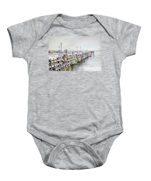 Piers To Be Cold Baby Onesie