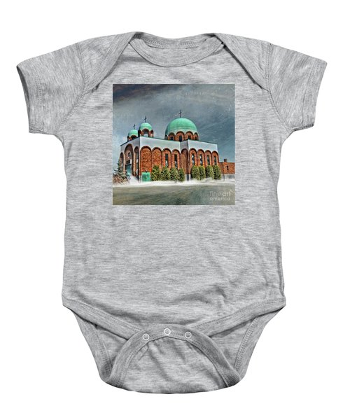 Place Of Worship Baby Onesie
