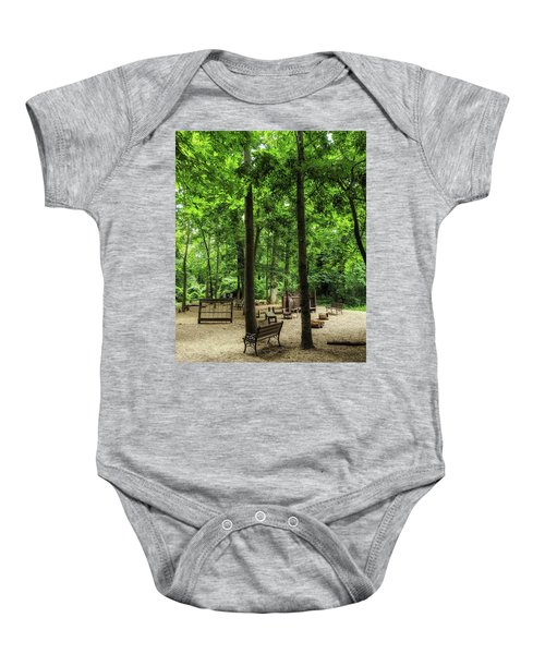 Play In The Shade Baby Onesie
