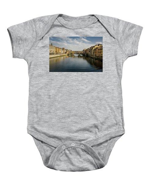 Ponte Vecchio Baby Onesie