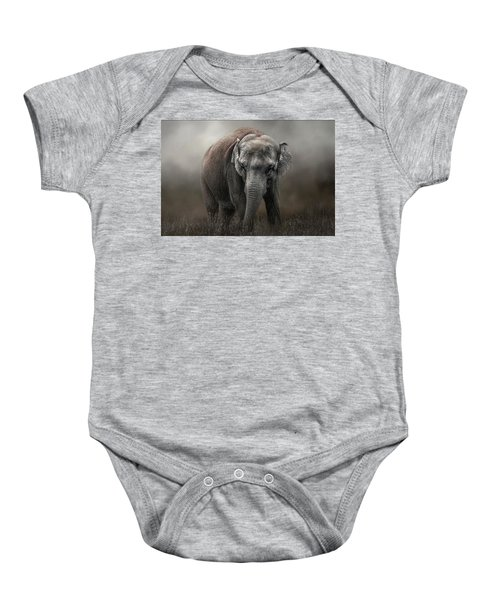 Power And Grace Baby Onesie