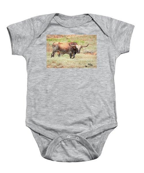 Prairie Longhorn Baby Onesie