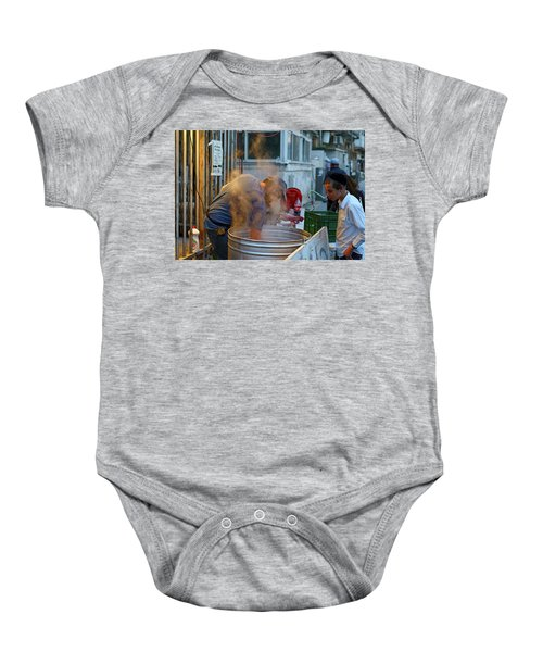 Preparing Dishes For Passover Baby Onesie