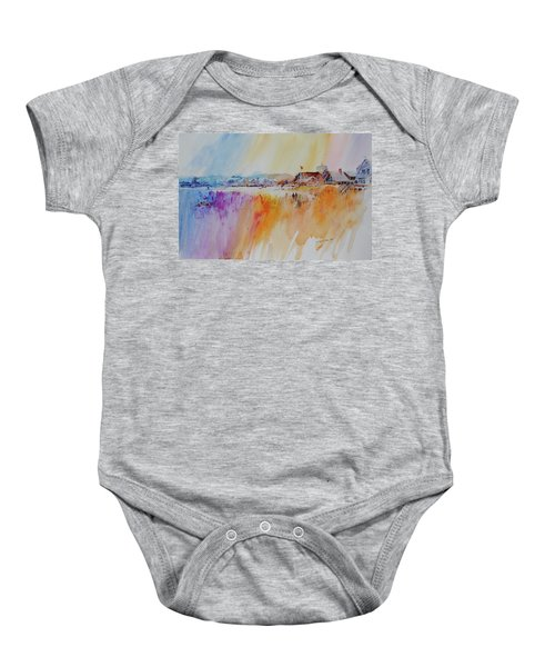Provincetown Waterfront Homes Baby Onesie
