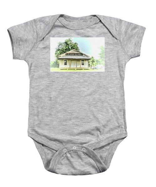 Quiet Reminder Of Yesterday In Goochland, County Virginia Baby Onesie