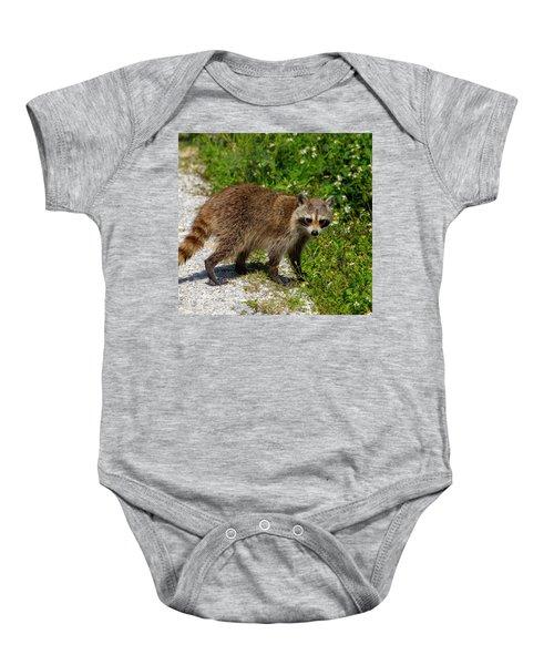 Raccoon Baby Onesie