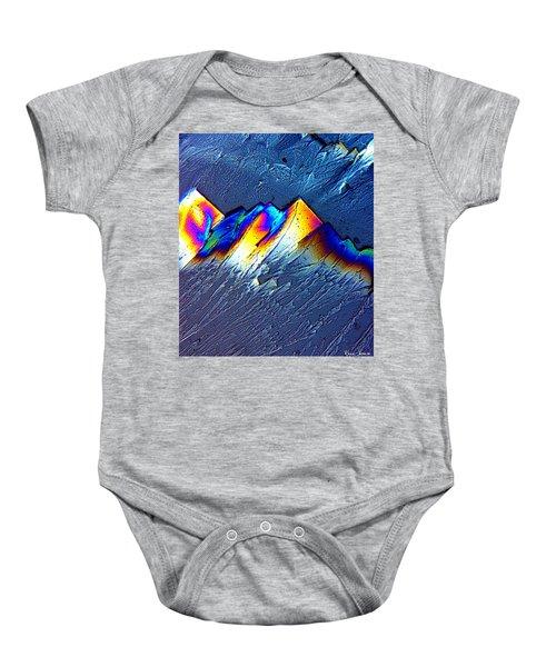 Rainbow Mountains Baby Onesie