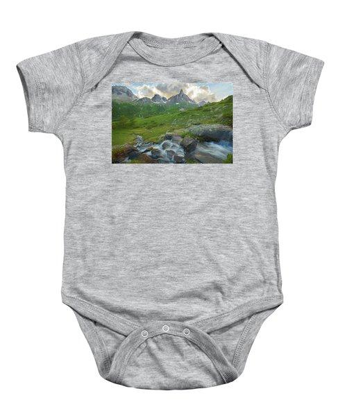 Range In The Claree Valley II Baby Onesie