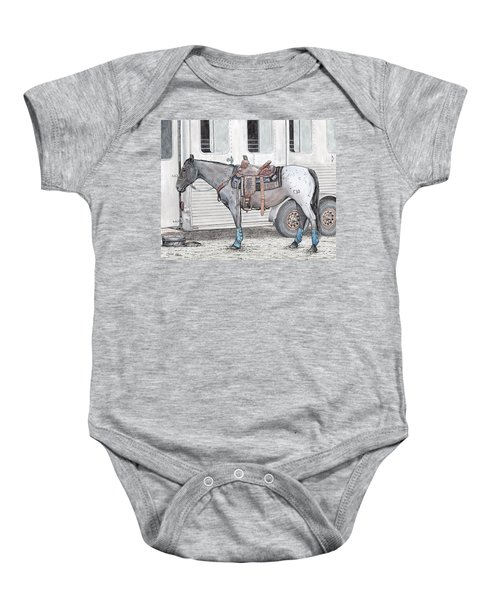 Ready For Battle  Baby Onesie