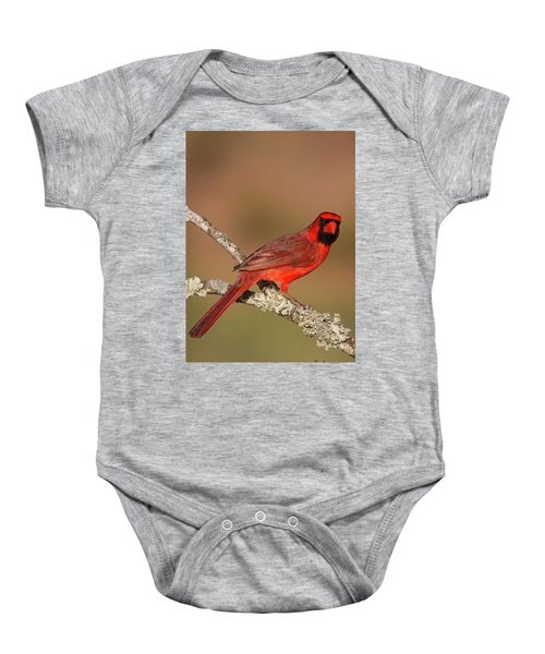 Red And Radiant Baby Onesie