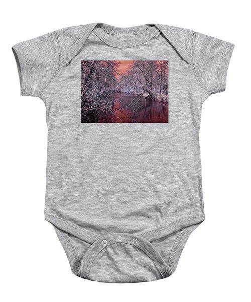 Red Creek Baby Onesie