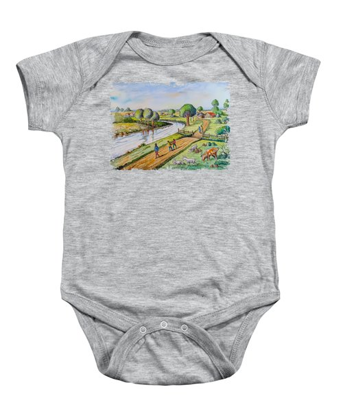 River Road Baby Onesie