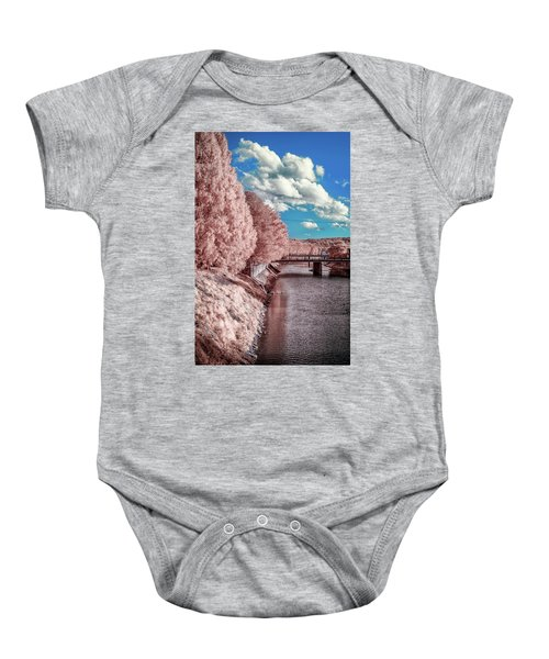 River Walk Baby Onesie