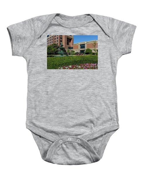 Riverwalk Augusta Ga Fountain Baby Onesie
