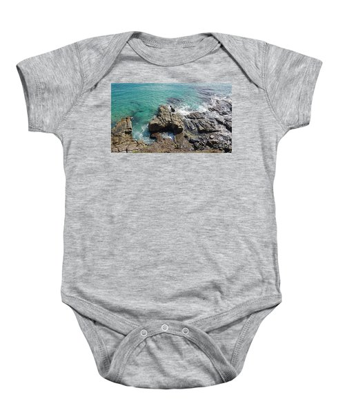 Rocks And Water Baby Onesie