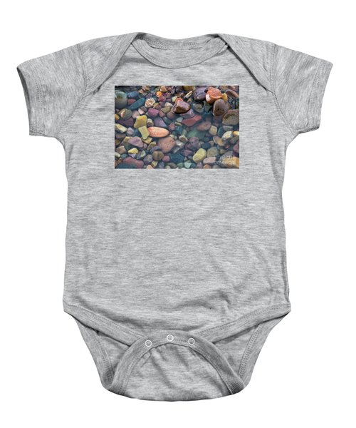 Baby Onesie featuring the photograph Rocks  by Vincent Bonafede