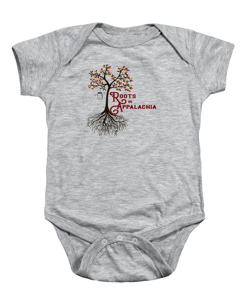 Roots In Appalachia Lightning Bugs Baby Onesie
