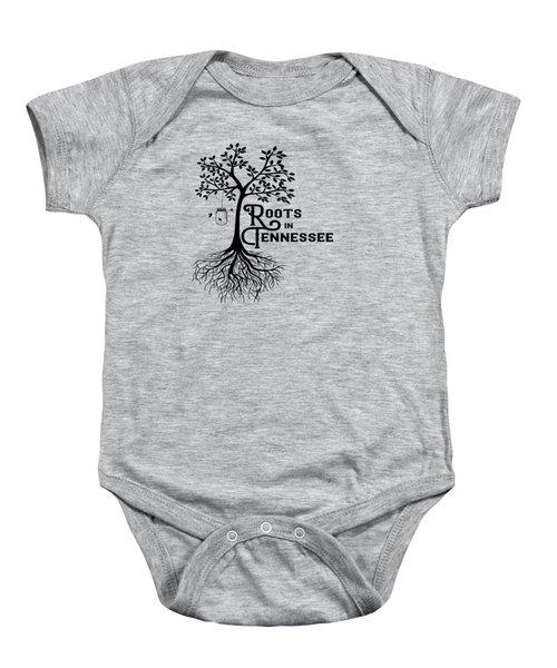 Roots In Tn Baby Onesie