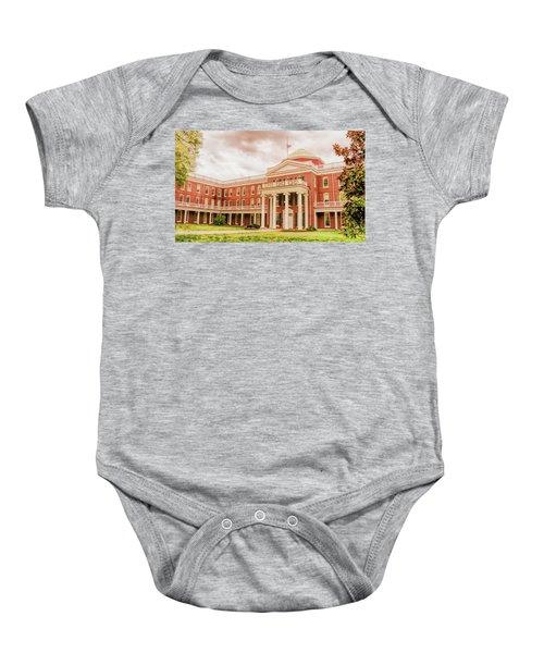 Rotunda Building Longwood University In Farmville Virginia Baby Onesie