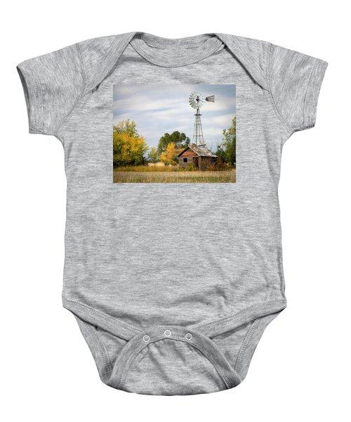 Rural North Dakota Baby Onesie
