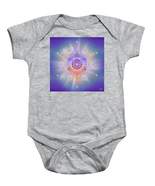 Sacred Geometry 734 Baby Onesie