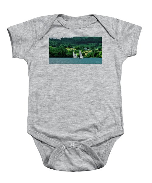 Sailing By Baby Onesie