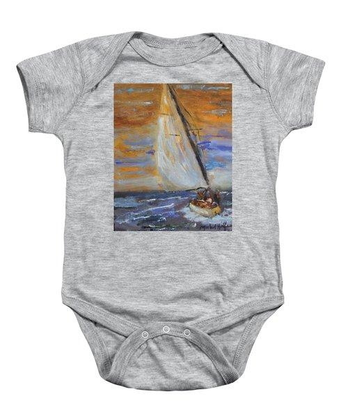 Sailng Nto The Sun Baby Onesie