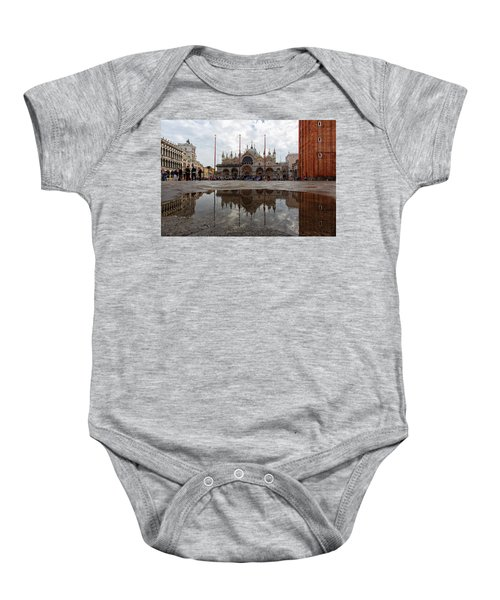 San Marco Cathedral Venice Italy Baby Onesie