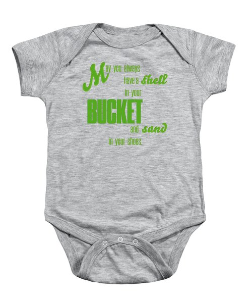 Sand In Your Shoes Baby Onesie