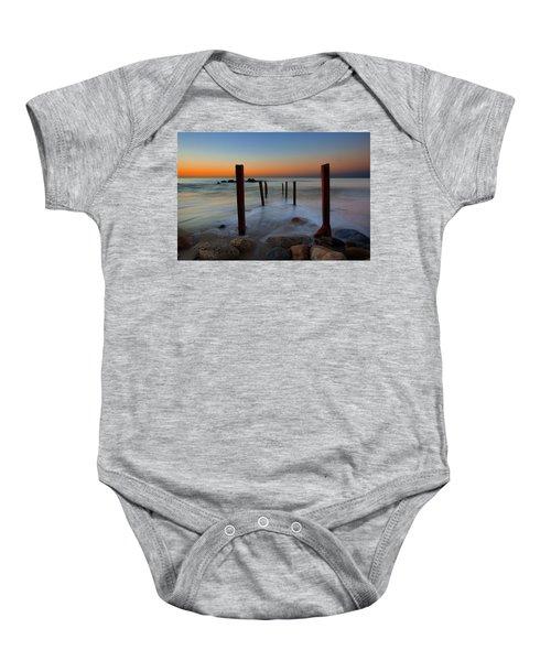 Santa Monica Sunrise Baby Onesie