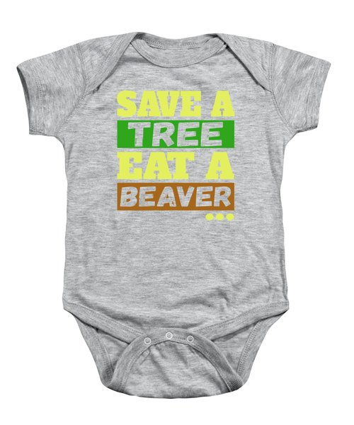 Save A Tree Baby Onesie