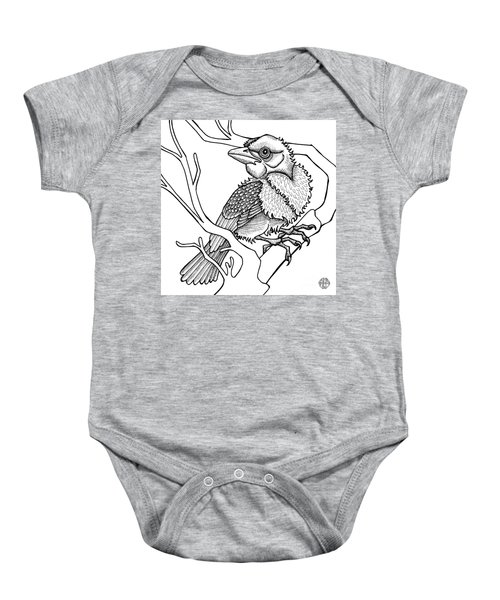Scarlet Tanager Baby Onesie
