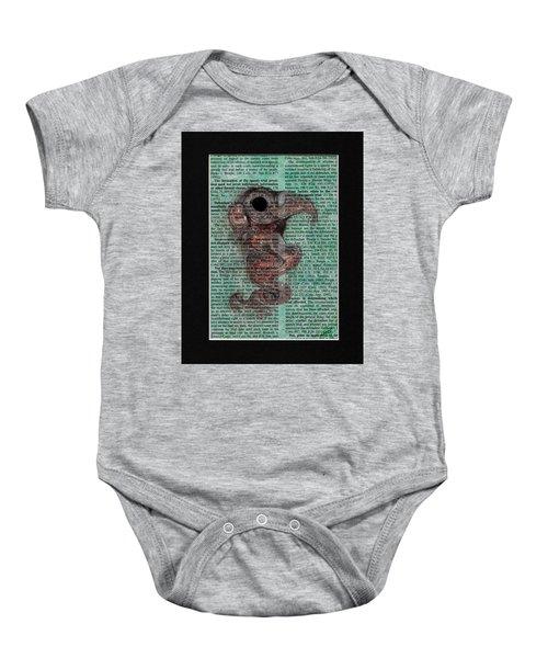 Sea Raven  Baby Onesie