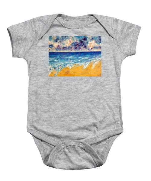 Searching For Rainbows Baby Onesie