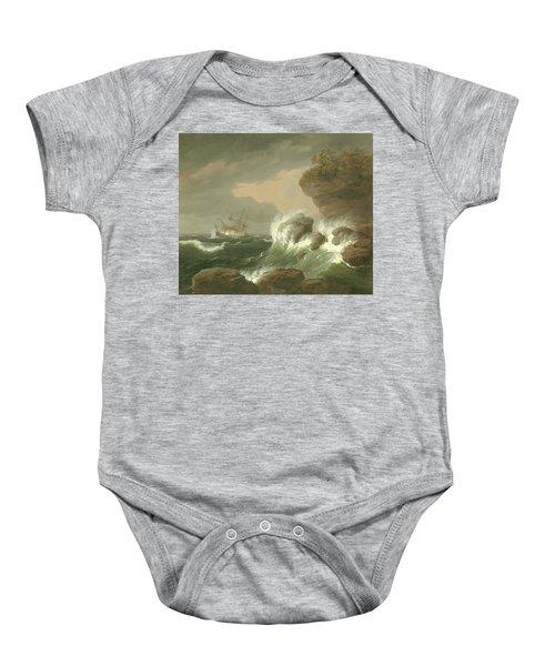 Seascape, 1835 Baby Onesie