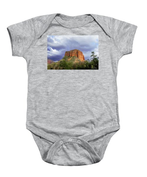 Devil's Mountain Baby Onesie