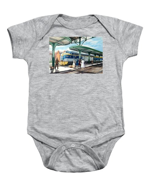 Sentimental Journey Baby Onesie