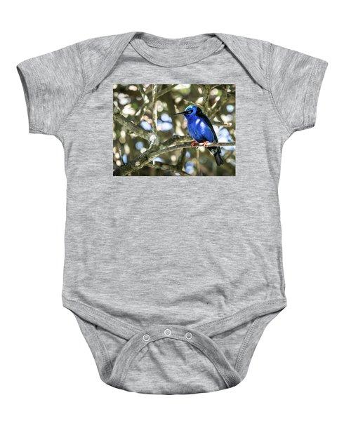 Shades Of Blue Baby Onesie
