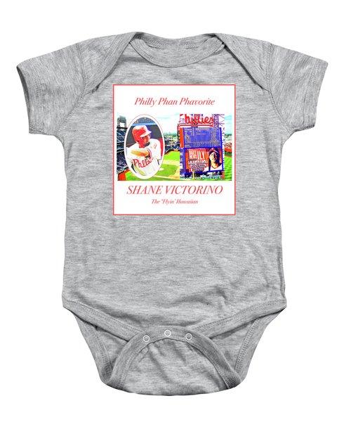 Shane Victorino, Philly Phan Phavorite Baby Onesie