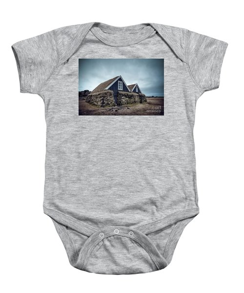 Shelter Me Baby Onesie
