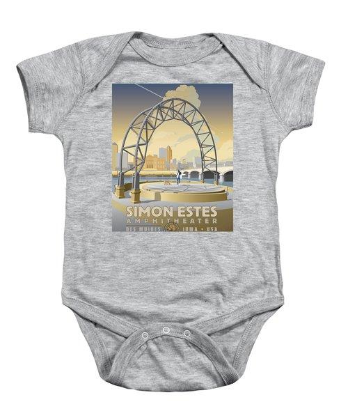 Simon Estes Amphitheater Baby Onesie