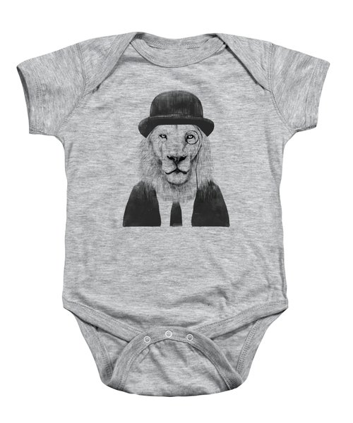 Sir Lion Baby Onesie